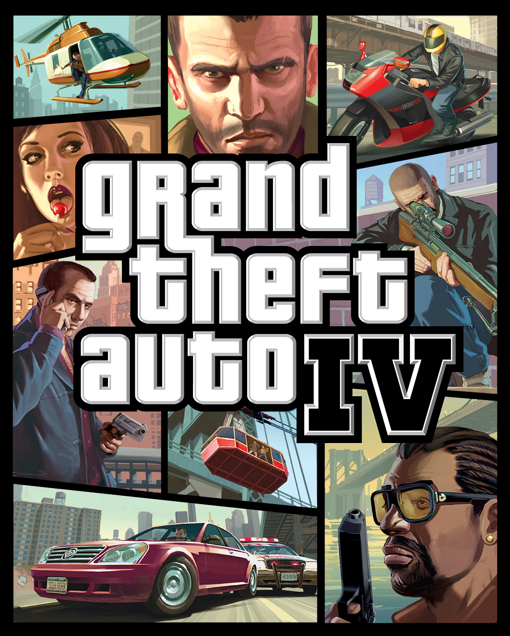 Video Game Review: Grand Theft Auto IV [Xbox 360, 2008]