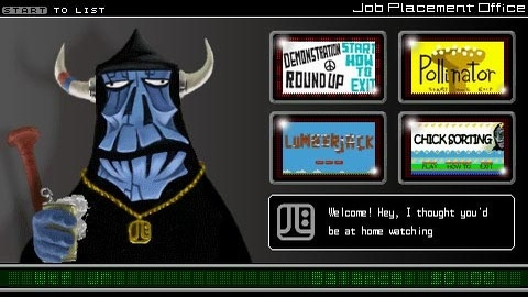 WTF: Work Time Fun [PSP, 2006]
