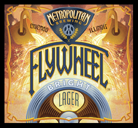 Flywheel Bright Lager [Metropolitan Brewing]