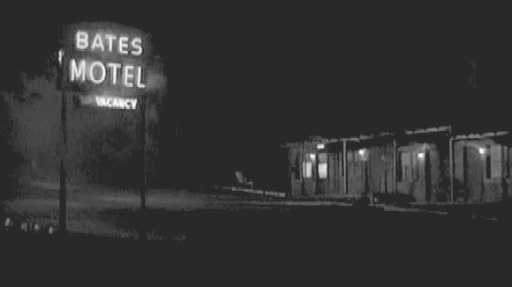 The iconic Bates Motel