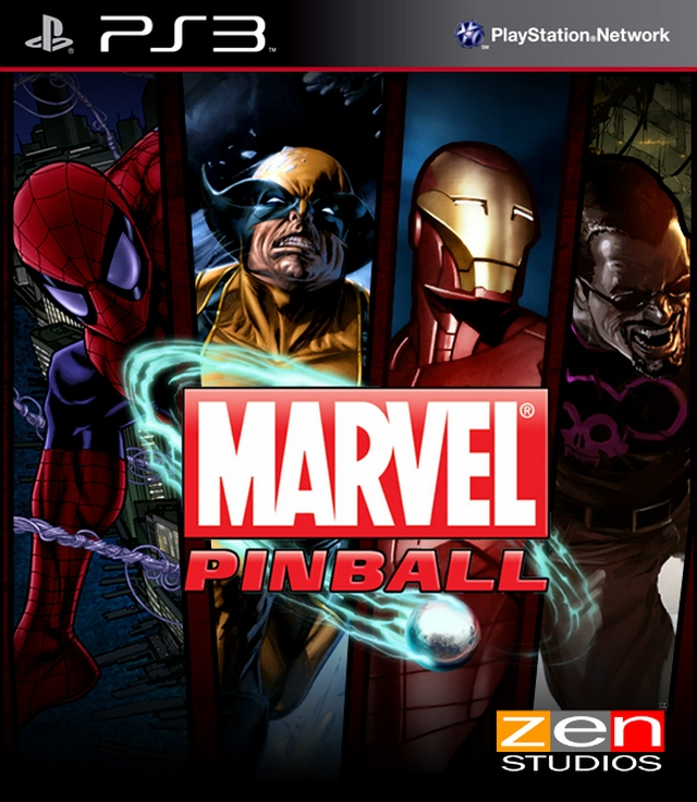 Movie Games For Ps3 : Video game review marvel pinball ps  the