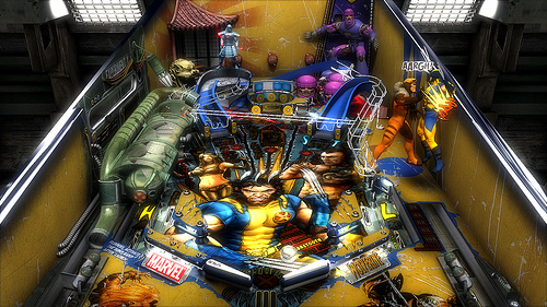 Marvel Pinball [PS3, 2010]