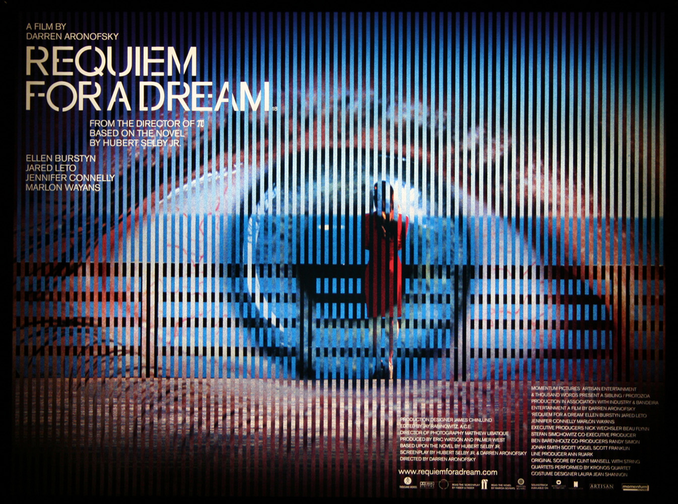 requiem for a dream movie Darren aronofsky's requiem for a dream proved controversial from the outset so much so that the motion picture association of america (mpaa) refused to give this dark and disturbing movie (based on the book by hubert selby jr) a rating on its release in 2000.