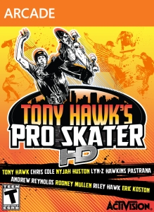 Tony Hawk's Pro Skater HD [XBLA] Cover Art