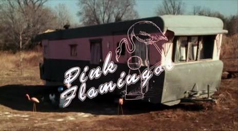 Pink Flamingos [1972] - title screen