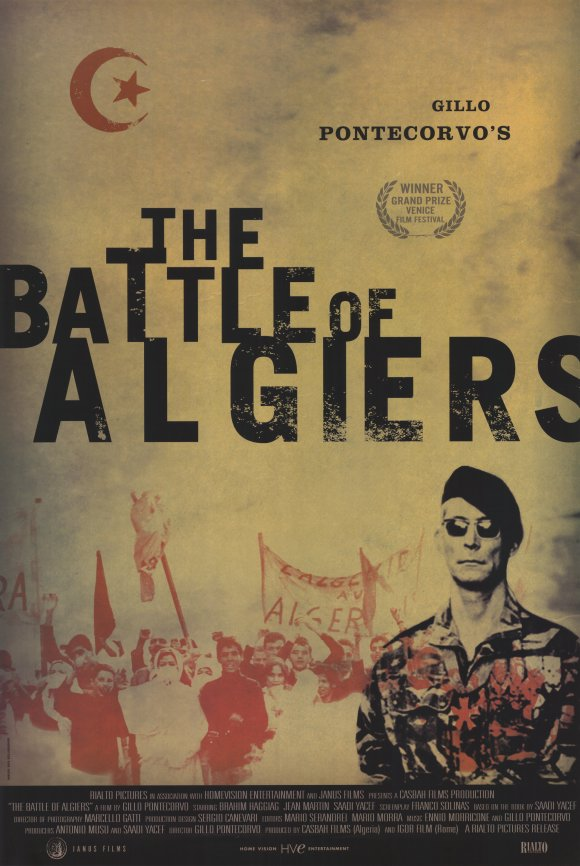 The Battle of Algiers [1966] Movie Project 3 The Battle of Algiers 1966 The Warning Sign 580x866 Movie-index.com