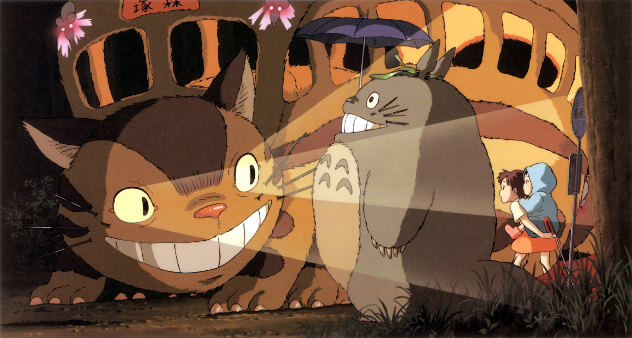 my neighbor totoro My neighb or totoro in 1958 japan, university professor tatsuo kusukabe and his two daughters, satsuki and mei move into an old house to be closer to the.