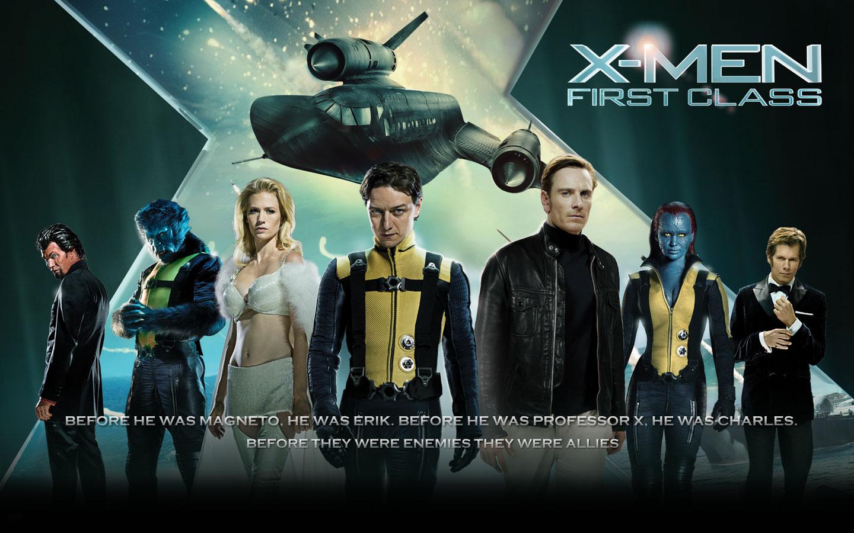 xmen-first-class-poster  X Men First Class Movie Poster
