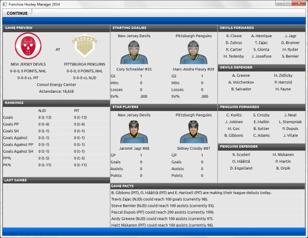 Franchise Hockey Manager